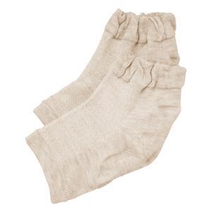 履き口ゆったりかかとつるり保湿 しっとり 靴下 代引き不可・同梱不可|greetings
