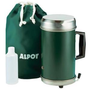 アルポット グリーンアウトドア ステンレス 沸かす 代引き不可・同梱不可|greetings