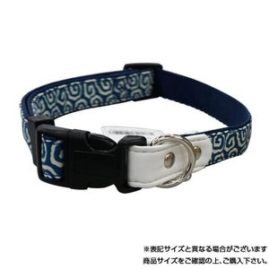 リードッグ 唐草ワンタッチカラーSS ブルー KRWC-SS/BLいぬ 首輪 散歩 代引き不可・同梱不可|greetings