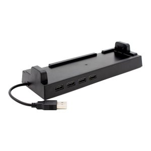 Switchドック用 4ポートUSBハブ ドックスタンド ANS-SW062 代引き不可・同梱不可