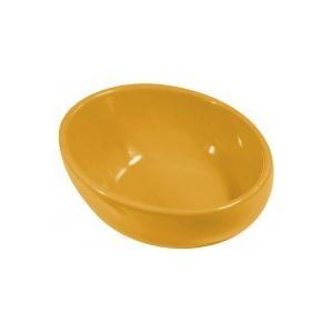 ペットの事だけを考えた食器 カラーボール120 マスタード 代引き不可・同梱不可 greetings