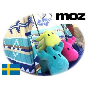 MOZ 抱き枕【Lサイズ】(約75cm) エルク/マシュマロボア/クッション/ぬいぐるみ/MOZ SWEDEN BODY PILLOW/インテリア/雑誌掲載モズ/グッズ|grengren