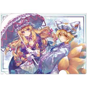 東方クリアファイル 紫&藍7 -AbsoluteZero-|grep