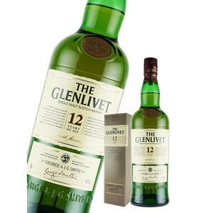 ウイスキー ザ グレンリベット 12年 40度 正規 700ml 箱付 シングルモルト 洋酒 whisky