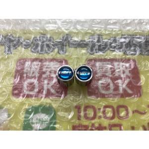 2個 RAYS ヴィクトリクス クロイツァー 絶版 エアーバルブキャップ 普通サイズ エメラルドブルー VIP DIY |gripiga