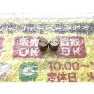 2個 RAYS ボルクレーシング エアーバルブキャップ 普通サイズ 赤 レッド あるみ? TE37 CE28 等 15インチ使用 DIY|gripiga