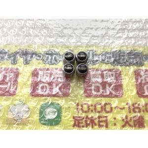 4個 ROZEST エアーバルブキャップ クリア面有 18インチ使用 メッキ ブラック 黒 DIY 空気入れキャップ |gripiga