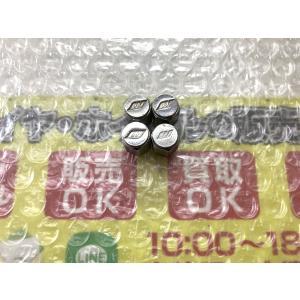 4個 WORK ワーク エアーバルブキャップ 普通サイズ メッキ 19インチ使用 DIY 空気入れキャップ グノーシス simi |gripiga