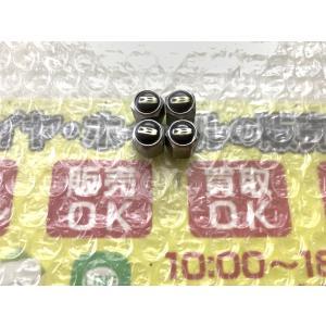 4個 マルカ BROCKEN DS510 16インチ使用 DIY 空気入れキャップ クリア面有 DIY メッキ ブラック 黒 |gripiga