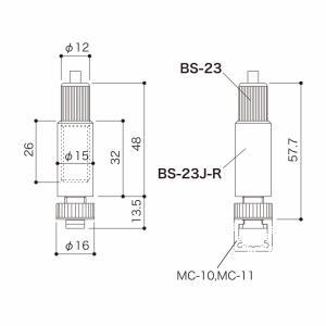 BS-23J-Rset(ストレートワイヤーφ1.0~1.5用) gripshop 02