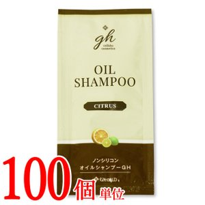 【セット】日本製 ホテルアメニティ GemiD×HE ゼミドハーバル ノンシリコンオイルシャンプー 100個単位 (ma0a002)|griptone