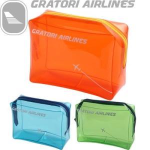 日本製 グラトリ エアラインズ GRATORI ビニールポーチS 506000(ko1a188)|griptone