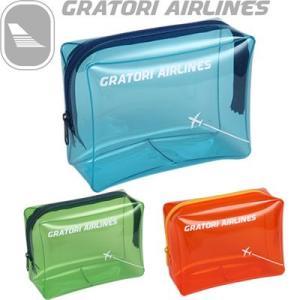 日本製 グラトリ エアラインズ GRATORI ビニールポーチL 506100(ko1a189)|griptone