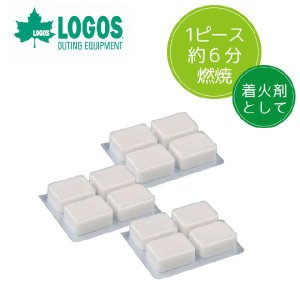 「tc6」LOGOS ロゴス (即点火)タブレット燃料・12入 83010109(ro0a028)|griptone