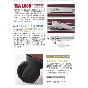 A.L.I.(エーエルアイ)最軽量デカかる2 46cm MM-5188 TSAロック搭載 4輪スーツケース フレーム 機内持ち込み(aj0a057)[C] griptone 07