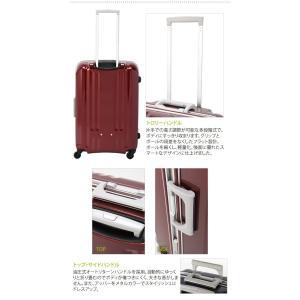 A.L.I.(エーエルアイ)最軽量デカかる2 46cm MM-5188 TSAロック搭載 4輪スーツケース フレーム 機内持ち込み(aj0a057)[C] griptone 08