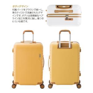 MAXSMART(マックススマート)59cm MS-202-25 TSAロック搭載 8輪(4輪ダブルキャスター)スーツケース ジッパー(aj0a090)[C]|griptone|03