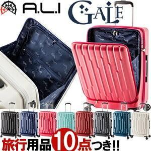 GALE(ゲイル)64cm GALE-F24 2in1ファスナーロック搭載 8輪(4輪ダブルキャスター)スーツケース ジッパー(aj0a099)[C]|griptone