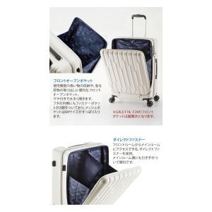 GALE(ゲイル)64cm GALE-F24 2in1ファスナーロック搭載 8輪(4輪ダブルキャスター)スーツケース ジッパー(aj0a099)[C]|griptone|03