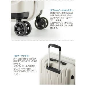 GALE(ゲイル)64cm GALE-F24 2in1ファスナーロック搭載 8輪(4輪ダブルキャスター)スーツケース ジッパー(aj0a099)[C]|griptone|05