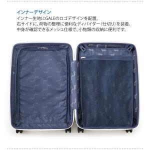 GALE(ゲイル)64cm GALE-F24 2in1ファスナーロック搭載 8輪(4輪ダブルキャスター)スーツケース ジッパー(aj0a099)[C]|griptone|06