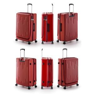 GALE(ゲイル)64cm GALE-F24 2in1ファスナーロック搭載 8輪(4輪ダブルキャスター)スーツケース ジッパー(aj0a099)[C]|griptone|07