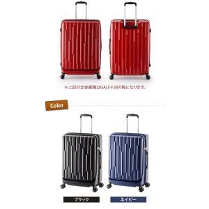 GALE(ゲイル)64cm GALE-F24 2in1ファスナーロック搭載 8輪(4輪ダブルキャスター)スーツケース ジッパー(aj0a099)[C]|griptone|08