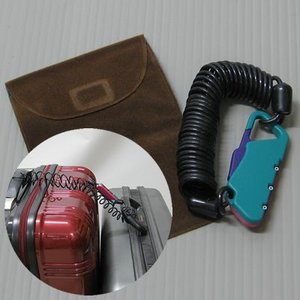 [送料299円〜]「tc3」「cp」ケーブル式3桁ダイヤル錠 ハンディーロック 2m 携帯用ポーチ付き BS-111 2点迄メール便OK(to3a006)|griptone