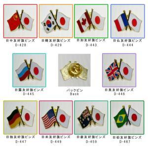 [送料299円〜]「tc50」日本と各国の友好旗ピンズ D-400・D-804・D-805・D-806 40点迄メール便OK(da1a012)|griptone|02