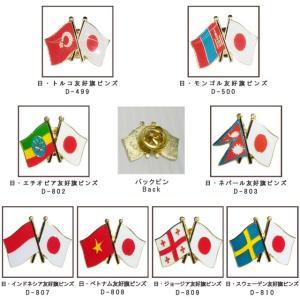 [送料299円〜]「tc」日本と各国の友好旗ピンズ D-499〜500・D-802〜803・D-807〜814・D-816〜822 40点迄メール便OK(da1a036) griptone 02