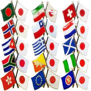 「tc」日本と各国の友好旗ピンズ D-838〜842・D-844〜846・D-851〜852 40点までメール便OK(da1a040)|griptone