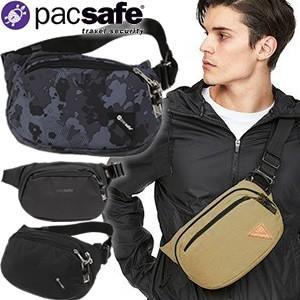 防犯用!PacSafe(パックセーフ) バイブ100(ヒップバッグ) 12970182(ei0a213)|griptone