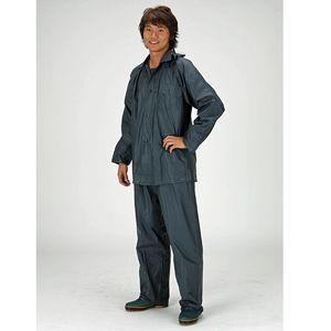 [送料299円〜]「cp」PVC鉄紺スーツ レインコート上下 FIC-185 サイズ:M-3L 1着単位 1点迄メール便OK(fu0a014)|griptone