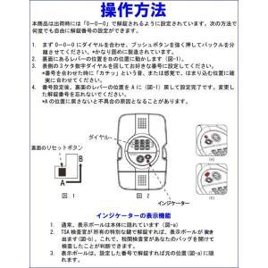 [送料299円〜]「tc3」TSAロック付きGPTスーツケースベルト おしゃれなドット柄ストライプ柄 アウトレット品 gpt-skb-12 2点迄メール便OK(gu1a064)|griptone|04