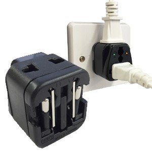 「tc4」Kashimura カシムラ 海外用2口変換プラグ A/C/O/SE/BFタイプ 電圧ランプ付き NTI-91(hi0a215)【国内不可】|griptone