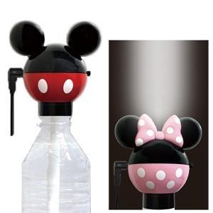 Kashimura カシムラ Disney ディズニー ペットボトル式加湿器 ミッキーマウス/ミニーマウス NTD-8/NTD-9 保証付き(hi0a234)|griptone