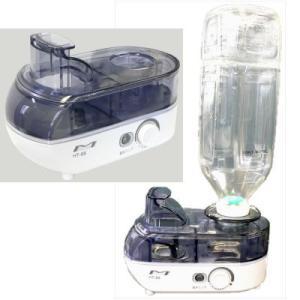 超音波式ペットボトル加湿器 HT-88 乾燥対策 風邪対策 1年保証付(to1a012)|griptone