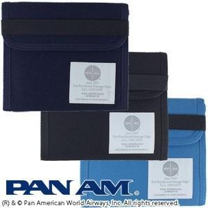 [送料299円〜]「tc3」PAN AM パンナム トラベルウォレット 515013 2点迄メール便OK(je1a386)|griptone