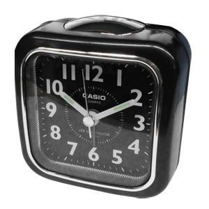 CASIO カシオ 目覚まし時計 ブラック 保証付き TQ-157-1BJF 508010(je1a453)|griptone
