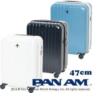 PAN AM パンナム 47cm 502054 TSAロック搭載 4輪スーツケース ジッパー 機内持ち込み(je2a163)