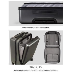ace.(エース) CORNERSTONE-Z(コーナーストーン-Z) 47cm 06235 TSAダイヤルロック搭載 4輪スーツケース ジッパー フロントオープン 機内持ち込み(je2a239)[C]|griptone|05
