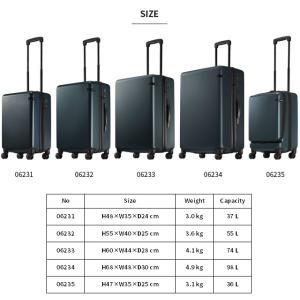 ace.(エース) CORNERSTONE-Z(コーナーストーン-Z) 47cm 06235 TSAダイヤルロック搭載 4輪スーツケース ジッパー フロントオープン 機内持ち込み(je2a239)[C]|griptone|06