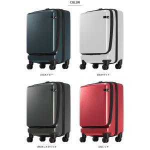 ace.(エース) CORNERSTONE-Z(コーナーストーン-Z) 47cm 06235 TSAダイヤルロック搭載 4輪スーツケース ジッパー フロントオープン 機内持ち込み(je2a239)[C]|griptone|07