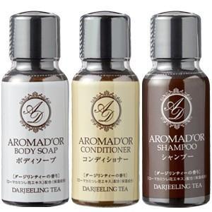 「tc4」アロマドール ミニボトルセット ダージリンティーの香り 88113230 シャンプー・コンディショナー・ボディソープ 30ml(ma0a100)|griptone