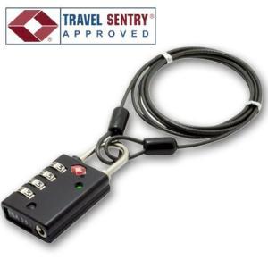 防犯に便利な1.2mワイヤーを付属。 *旅行用品/旅行便利グッズ/海外旅行/アメリカ圏旅行/ハワイ/...