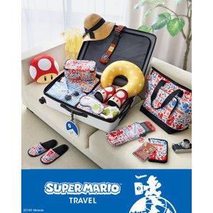 任天堂 スーパーマリオシリーズ 2WAYネックピロー(スーパーキノコ) NSL-0029(ni2a010)|griptone|03