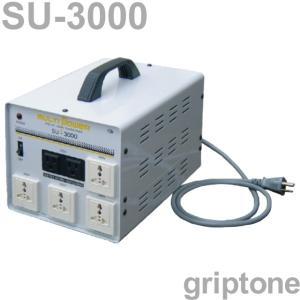 スワロー電機 マルチトランス SU-3000 保証付 AC100・110・120・200・220・230・240V⇔昇降圧⇔100・110・120・200・220・230・240V(容量3000W) (og0a059)|griptone