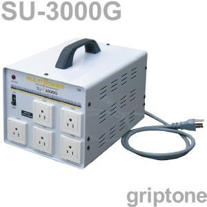 スワロー電機 5口ダウントランス SU-3000G 保証付 AC100・110・120・200・220・230・240V⇒降圧⇒100V(合計容量3000W) (og0a062)|griptone
