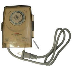 コンセントタイマー REVEX リーベックス 防雨型屋外用プログラムタイマー PT-W1(hi0a035)|griptone