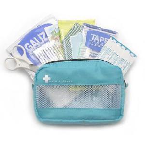 「tc2」日本製 救急セット セーフティポーチ qq0704(iw0a025)|griptone